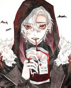 Dark Anime, Character Design, Character Art, Anime Drawings Boy, Anime Guys, Vampire Boy, Anime Characters, Boy Art, Anime Drawings