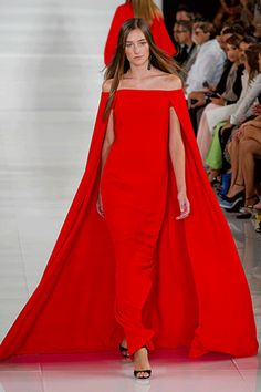The Best Looks From New York Fashion Week: Ralph Lauren Spring 2013 Photo Credit: Imaxtree