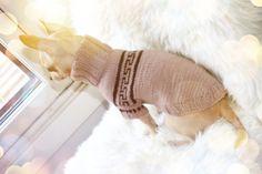 Elegance Wool Sweater. Pris: 299,-  www.glamdog.org
