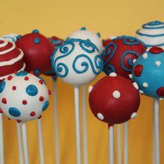 Dr Seuss Cake Pop Celebration Assortment por SweetWhimsyShop