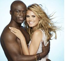 Another celebrity couple is divorcing. This time it's Heidi Klum and Seal's much-respectable couple. In an official statement this morning, Heidi and Seal accused their split on 'growing apart'. Black People Meet, Meet Black Women, White Women, Black Men, Black Guys, White Girls, Black And White Dating, Black And White Couples, Interracial Marriage