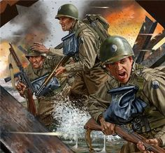 d-day at omaha beach war game