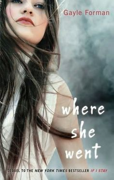 book cover of     Where She Went      (If I Stay, book 2)    by    Gayle Forman