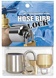 Outdoor Faucet Lock