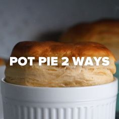 Semi-Homemade Veggie-Packed Pot Pie 2 Ways #veggies #healthy #pie