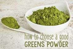 How to Choose a Nutrient Dense Green Superfood Powder