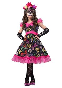 Halloween Shopaholic: New Day of the Dead Kids Costumes for Halloween 2016