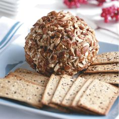 Gorgonzola & Cranberry Cheese Ball Recipe -A cheese ball is a classic appetizer to take to any gathering, and it's so easy to make. This version, studded with tangy dried cranberries, is a holiday hit. —Kathy Hahn, Pollock Pines, California