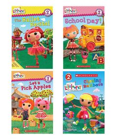 Look what I found on #zulily! Lalaloopsy Reader Paperback Set by Lalaloopsy #zulilyfinds