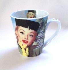 I Love Lucy Mug Has Anyone Seen My Hormones Lucille Ball Photo Coffee Cup