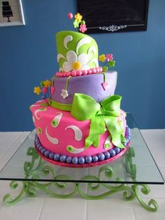 colorful birthday cakes - Google-haku