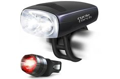 Cycle Torch Night Owl Bike Light USB Rechargeable - Perfect Urban Commuter Bicycle Light Set - Bright TAIL LIGHT Included - Compatible with Mountain, Road ,Kids & City Bicycles, Increase Safety & Visibility Bicycle Lights, Bike Light, Usb, Led Tail Lights, Frame Bag, Bike Handlebars, Torch Light, Cool Bikes, Night Owl
