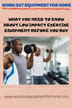 Low impact exercise equipment can be advantageous to your entire family. A piece of exercise equipment such as a treadmill or stationary bike is something you will all be able to benefit Home Workout Equipment, Low Impact Workout, Treadmill, Need To Know, At Home Workouts, Stationary, Benefit, Bike, Fitness