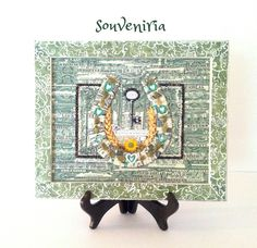This particular collage made of real US dollars bills is a special gift for a young family on their wedding day. It is a talisman which has a magic power to attract prosperity and happiness. This c...