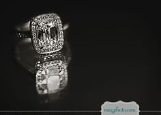 #Engagement ring #wedding ring