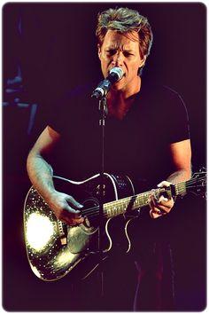 Jon in rehearsals, BBC Radio 224th January 2013