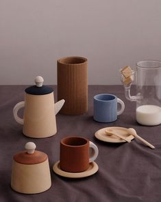 Terra and Blue Tea Sets  back in stock! #raduga_grez #radugagrez