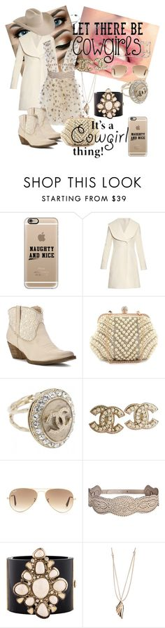 """""""It's a country thing"""" by alaina-dixon on Polyvore featuring Casetify, J.W. Anderson, Volatile, Chanel, Ray-Ban, Tamara Akcay, country, women's clothing, women and female"""