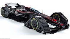 McLaren have unveiled their incredible concept vehicle, the futuristicMP4-X, which utilis...
