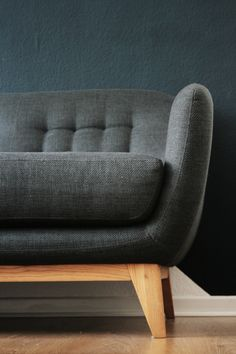 Balthasar, Couch, Sofa, Petrol, Wohnzimmer, Ton in Ton