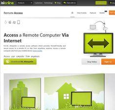 4- ISL Online:  ISL Online, kendinizin olmayan bilgisayarlara bağlanmak için en pratik çözümlerden biri. Yabancılar için bile çok kolay bir davet sistemi olan uygulama, ayrıca uzaktan yazdırma, seans kaydı, senkronizasyon gibi birçok ekstra özellik ile karşımıza çıkıyor.  http://sosyalmedya.co/masaustune-uzaktan-baglanmak/4/