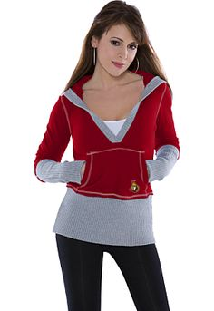 Ottawa Senators Women's Rivalry Hoody 'touch' by Alyssa Milano