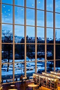 Malmo City Library, Sweden