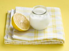 Yogur y zumo de limón