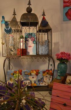 Actitud Creativa KARINA CHAVIN / Circo Golondrina Interior Design Certification, Canvas, Painting, Inspiration, Goddesses, Decorating, Girls, Ideas, Lanterns