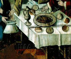 Fischwunder des Hl. Ulrich  Kunstwerk: Temperamalerei-Holz ; Einrichtung sakral ; Flügelaltar ; Steiermark  Dokumentation: 1480 ; 1485 ; Graz ; Österreich ; Steiermark ; Universalmuseum Joanneum ; IN 417  Anmerkungen: Schönberg