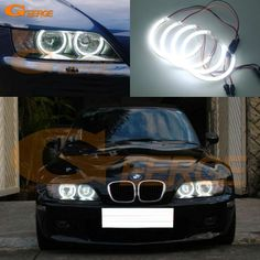 30w 69 amber single row led light bar flood beam super bright led find more car light accessories information about for bmw z3 1999 2002 halogen headlight excellent angel aloadofball Images