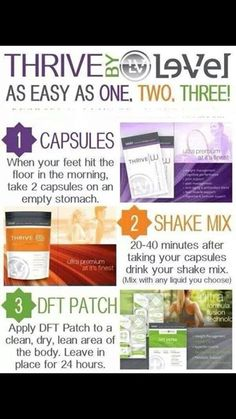 Thrive by Le-Vel is as easy as Capsules Shake Mix DFT Foam - Order today at www.le-vel Become a FREE Promoter today! Lose Weight Naturally, How To Lose Weight Fast, Loose Weight, All You Need Is, Thrive Patch, Thrive Le Vel, Thrive Life, Level Thrive, Honey