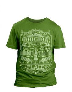 Jual Djogdja Unforgettable Tee #hijauperunggu - Jowel Cloth [..silahkan kunjungi situs untuk detail produknya..]