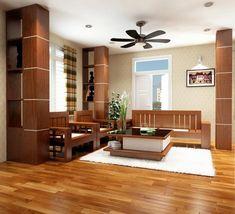 Những không gian trang hoàng bằng gỗ khiến bạn không thể rời mắt vì quá độc lạ!   Với những ưu điểm vượt trội gỗ luôn là lựa chọn hàng đầu của người Việt trong việc trang hoàng nhà cửa. Những không gian cực đỉnh dưới đây sẽ càng khiến bạn thích thú hơn trong việc chọn lựa gỗ cho để trang trí không gian sống của mình!  Bàn ghế gỗ tạo độ rộng và sang trọng cho không gian  Gỗ khoác cho trần nhà một dáng vẻ sinh động bằng những hình con thoi vuông chữ nhật được đan từ những thanh gỗ óng ánh vàng…