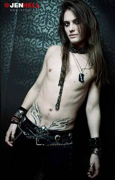 photo by Jenhell (guys, long hair) Beautiful Boys, Gorgeous Men, Alternative Men, Gothic Men, Goth Guys, Long Hair Models, Smart Men, Boys Long Hairstyles, Attractive People