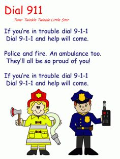 How to teach your kindergartener or preschooler to dial 911.