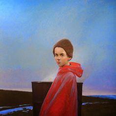 Realist Figurative painter Bo Bartlett (American: - Eliot in Chadds Ford, 2015 American Realism, American Artists, Chadds Ford, Bo Bartlett, Pop Art Illustration, Lifelong Friends, Philadelphia Museum Of Art, Arts Award, Portraits