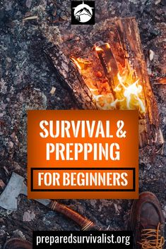 Survival & Prepping For Beginners survival & prepping for beginners by preparedsurvivali… will teach you the basics of survival & prepping so you know what you need to be prepared for an emergency disaster. Survival Quotes, Survival Food, Homestead Survival, Wilderness Survival, Outdoor Survival, Survival Prepping, Emergency Preparedness, Survival Skills, Survival Hacks