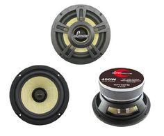 Lanzar OPTI6PM Opti Pro 400-Watt 6.5-Inch High-Power Coaxial Speaker by Lanzar. $37.94. 6.5'' Glass Fiber Cone with Butyl Rubber Surround Die Cast Aluminum Frame  1.5'' High Temperature CCAR Voice Coil, TIL Bobbin  30 Oz Magnet  220 Watts RMS 400 Watts Peak  3 Ohm Impedance  Vas: 11 Liter  Sensitivity: 92dB(1w/1m)  Frequency Response: 65Hz-7kHz  Mounting Depth: 2.95''  Overall Diameter: 6.97''  Complete with Custom Molded Grills and Hardware. Save 61%!