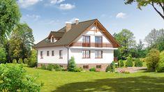 DOM.PL™ - Projekt domu DP frydman CE - DOM PK1-23 - gotowy koszt budowy Home Fashion, House Plans, Mansions, House Styles, Home Decor, Model, Houses, Decoration Home, Manor Houses