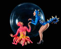 Book Sea Creatures Walkabout Bubble Act and make your event quirky! The sea creatures comprise Pinkie the Octopus & Bluey the Sea Horse enclosed in a bubble, find out more about hiring the walkabout bubble acts & our award-winning service Giant Lobster, Walkabout, Sea Creatures, Under The Sea, Corporate Events, Sea Shells, Acting, Bubbles, Ocean