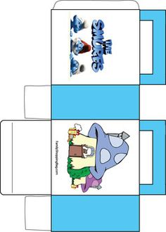 Smurfs Color Book, Smurfs, Coloring Pages - Free Printable Ideas from Family Shoppingbag.com