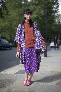 How Susie Bubble does kimono