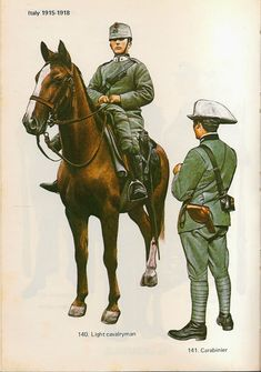 Ww1 Battles, Kingdom Of Italy, Military Art, Military Uniforms, Italian Army, World War One, Wwi, Medieval, Horses