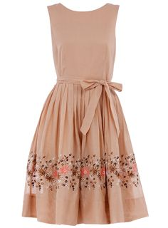 Dorothy Perkins embroidered garden party dress