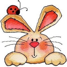 conejo animado tierno - Buscar con Google