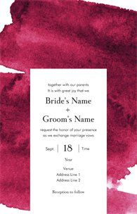 Design wedding invitations with Vistaprint! With hundreds of wedding invitation templates to choose from, there's something to suit all wedding themes and styles. Design your wedding invites now! Wedding Invitation Templates, Wedding Invitations, Marriage Vows, Wedding Themes, Groom, Reception, Stationery, Bride, Inspiration