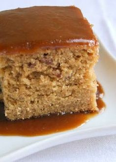 Low FODMAP Recipe and Gluten Free Recipe - Ginger cake with caramel frosting http://www.ibs-health.com/low_fodmap_ginger_cake.html