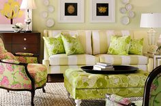 I love this Lilly Pulitzer room