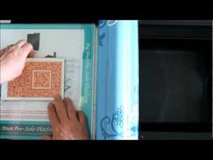How to Use Cuttlebug Emboss Plus folders in Sizzix Big Shot PRO